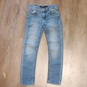 Jordache Girl's Skinny Jeans Size 7 EUC